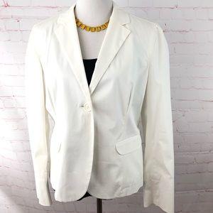 GAP Off White One Button Blazer NWOT
